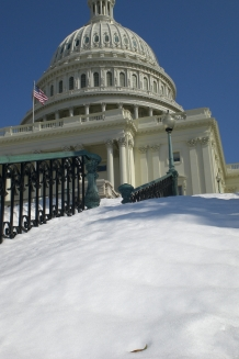 Snow on the Capitol