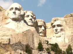 Granite Faces in South Dakota
