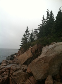 Bass Harbor Head Lighthouse at Acadia National Park