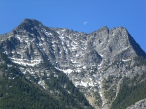 Moon over Waterton International Park
