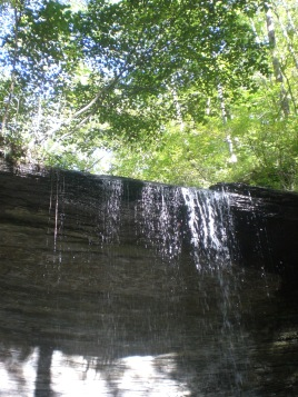 Water Falls Along the Natchez Trace