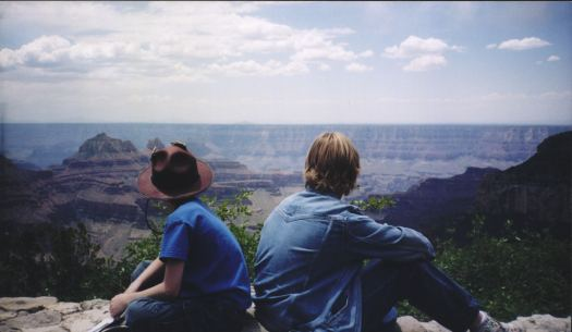 Collin & Indiana at the North Rim of the Grand Canyon June 2007